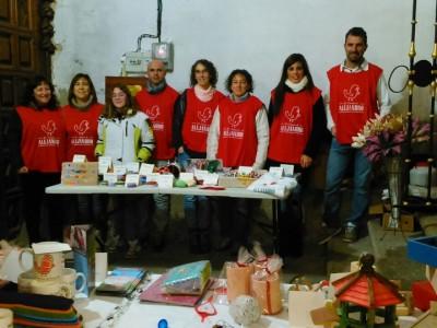 Mercadillo Solidario en el Puente del Congosto