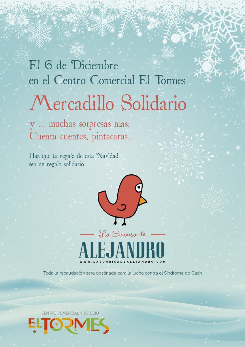 Mercadillo Solidario - Centro comercial el Tormes