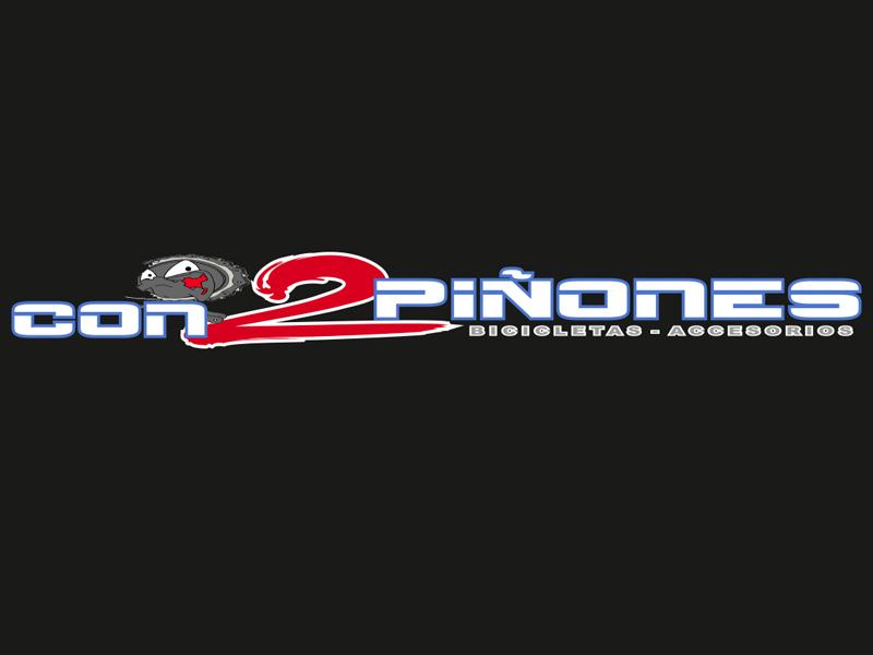 Con 2 Piñones logo